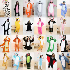 Unisex Adult Pajamas Kigurumi Cosplay Costume Animal Onesie Sleepwear Suit Fast