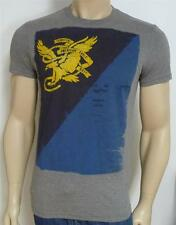 American Eagle Outfitters AEO Tee Mens Gray E3BD Cotton Blend T-Shirt New NWT