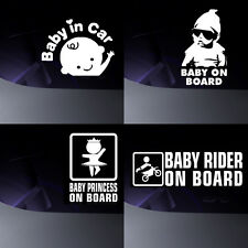car stickers BABY ON BOARD any colour !! any size !!!