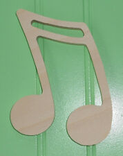 """15"""" Unpainted Wooden various MUSIC MUSICAL Shapes Cut Outs Wall Decor Crafts"""