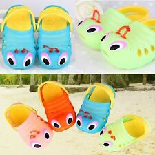 (4 COLORS) Toddler to Boys Girls Summer Sandals Shoes Clog Croc Slippers Tongs