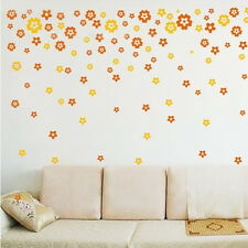 Nice New Small Floral Flower Wall Sticker Decoration Wall Decor Colorful Decor