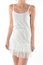 NEW Ladies White with Lace Trim Slip or Nightgown by Ciel