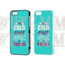 Disney Frozen Elsa Princess QUOTE Case Cover for iPhone iPod Samsung Galaxy