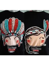 2 For $24.99-ONEMAN Cute Couple Set T-Shirt-Red Indian Black For Men-Women