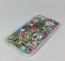 Comic Book Script Marvel bomber sticker Exclusive Iphone 4 /4S Hard Case cover
