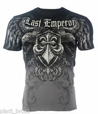 AFFLICTION Mens T-Shirt FEDOR EMELIANENKO Fight Biker Club GYM MMA UFC S-XXL $58