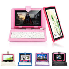 "iRulu Multi-Color 7"" A23 16GB Tablet PC Android 4.2 Dual Core&Cam w/ Keyboard"