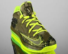 Nike Air Max Lebron XI 11 Low Dunkman men basketball shoes NEW khaki volt