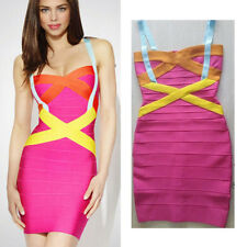 2014 new women sexy Mini bodycon cocktail evening party lady bandage dress