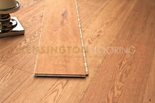 Click System 189mm Engineered Oak Brushed and Oiled Wood Flooring Floor  Wooden