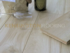 EXTRA Wide 220mm Engineered Natural Oak Flooring Unfinished Wood Floor 220UNF