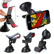 WINDSCREEN 360 ROTATING CLIP GRIP SUCTION CAR MOUNT BRACKET HOLDER PHONE GPS PDA