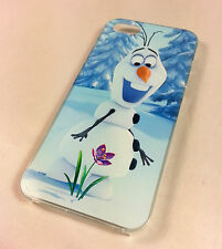DISNEY congelato Olaf pupazzo di neve MOVIE iPhone 4 / 4S HARD CASE COVER