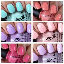 China Glaze Peonies & Park Ave Nail Polish Collection ***SUMMER FAVOURITES***