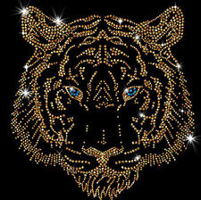 Tiger Head Sparkly Rhinestud Rhinestone T-Shirt PLUS SIZE -or- SUPERSIZE 16903