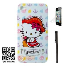 Hello Kitty Hard Case Cover Skin Shell for iPhone 4 4G 4S Free Protector Stylus