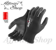 12 Pairs Ninja HPT Safety Gloves Any Size Hand Protection General Work Glove NEW