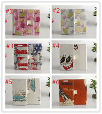 Flower Magnetic wallet PU Leather stand cover case for HTC Desire 601 #3