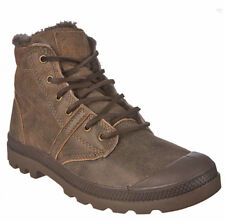 Palladium Pallabrouse Ls Homme Chaussures Bottes Taille 40-47 Cuir Marron Neuf