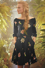 NEW Anthropologie Lolanthe Dress By Lil Various Sizes Smocked floral frock dress