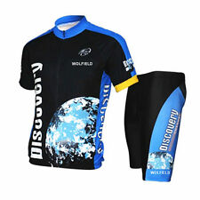 Cycling Bicycle Bike Comfortable Outdoor Jersey + Breathable Shorts Size M- XXXL