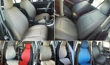 SELECT MAZDA 3 MIX LEATHERETTE AND SYNTHETIC TWO FRONT CUSTOM CAR SEAT COVERS