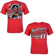 Kurt Busch 2014 Chase Authentics #41 Haas Automation Drive RED Tee FREE SHIP!