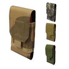 Universal MOLLE ARMY TACTICAL CELL PHONE SMARTPHONE VELCRO WAIST POUCH BAG CASE