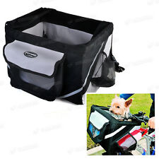 Bicycle Bike Front Box Carrier Basket For Small Dog Doggie Cat Outdoor Travel