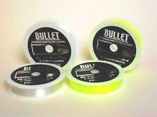 BULLET TAPERED KNOTLESS SHOCK LEADER FISHING LINE CLEAR OR YELLOW SEA BEACH SURF