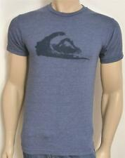 Quiksilver Mountain Wave Shift Tee Mens Heather Blue T-Shirt New NWT