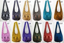 USA Shipping Owl Hippie Boho Sling Crossbody Shoulder Messenger Hobo Bags Tote L