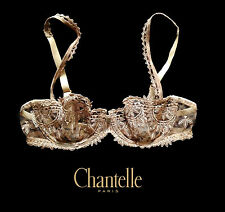Chantelle Africa Wild Leopard Demi Bra 3695/MP - Made in France - 32B