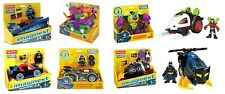 Fisher Price - Imaginext - Batman Vehicles - 8 Types - Entire Collection!