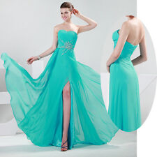 ON SALE~ HOT NEW Chiffon Evening Bridesmaid Wedding Ball Gown Prom Party Dresses