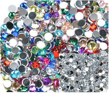1000pcs Nail Art Tips Glitters Fashion Rhinestones Slice Decoration Manicure New