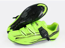 New Bike Bicycle Cycling Men Road Cycling Shoes With SPD Nylon-fibreglass 39-44