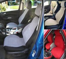MERCEDES S-CLASS 1979-2005 MIX VELOUR & SYNTHETIC TWO FRONT CAR SEAT COVERS