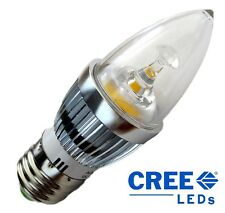 CREE Chips E27 Base 5W 500 Lumen Candle LED Bulb (50W Replacement)
