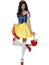 SALE Adult Sexy Fairytale Snow White Ladies Fancy Dress Costume Hen Party Outfit