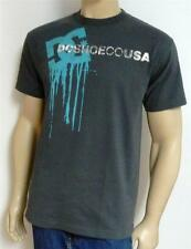 DC Shoes Wet Paint Tee Mens Gray T-Shirt New NWT