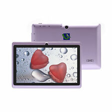 "iRulu A23 7"" Android 4.2 Purple Tablet PC 8GB Dual Core&Cam 1.5GHz  w/ TF Card"