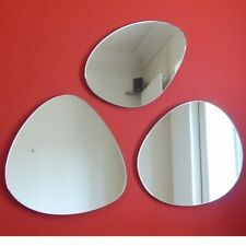 Group of Pebbles Mirrors (3mm Acrylic Mirror, Several Sizes Available)