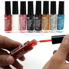 Hot 8 Colors 10ML Pro Nail Art Nail Polish Liner Drawing Painting Line Pen Brush