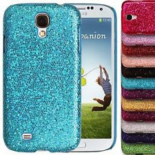 Chrome Sparkle Case for Samsung Galaxy S4 i9500 Glitter Bling Hard Back Cover