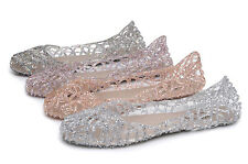 Women's Summer Shimmer Jelly Shoes, Sandals, Flats, SHIPS FAST FROM U.S.