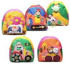 Kids Boys Girls Baby Animal Backpack / Zoo School Bag Lunch Box Back Pack BB004