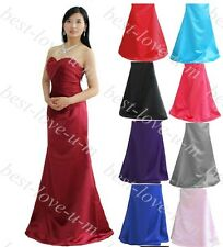 Wedding Evening Formal Party Ball Gown Prom Bridesmaid Dress 6-18