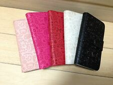 Cute PU Leather Flip Wallet Case Cover for Vary Phone 3-1